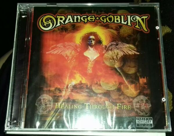 Orange Goblin : Healing Through Fire CD and DVD  BRAND NEW AND SEALED 2 DISCS