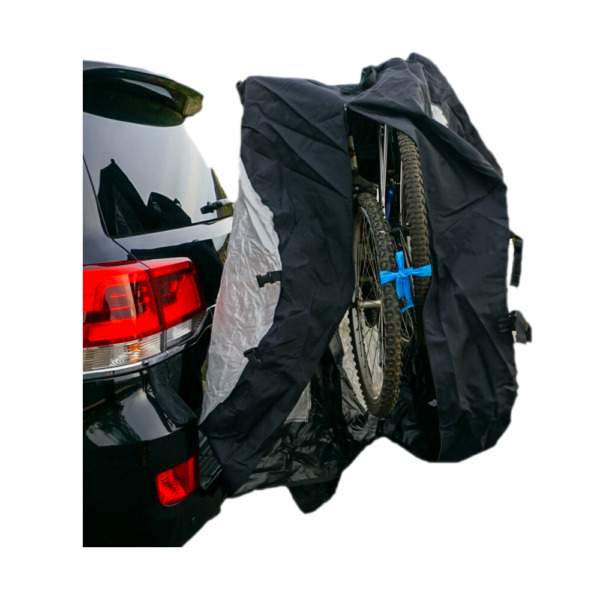 Extra Large Bike Cover for Transport on Rack Up to 4 Bikes w Translucent Ends $119.99