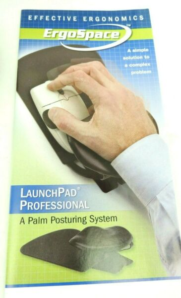 ErgoSpace Launch Pad Professional Palm Rest 75306 for Computer Mice Laptops