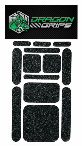 Non Slip Grip Tape Decal Textured Rubber Grip Sticky Stickers Black 13
