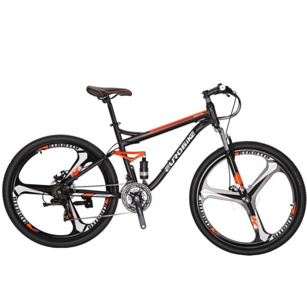 Full Suspension Mountain Bike 27.5quot; Shimano 21 Speed Men#x27;s Bicycle Sports MTB $337.46
