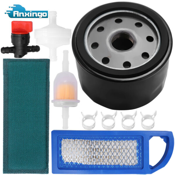 Air Oil Filter Tune Up Kit for John Deere LA115 LA105 LA110 L100 Intek 17-17.5HP