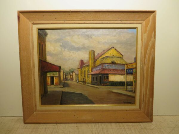 16x20 org.1908 oil painting by Rolla Taylor of