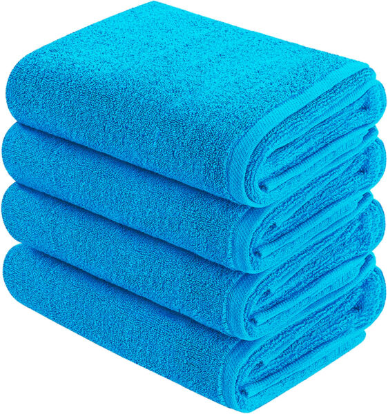 Goza Towels Cotton Hand Towels (4- Pack 16 x 28 inches)