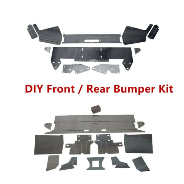 DIY Front Winch Bumper or Rear Bumper Kit Metal for 1984-2001 Jeep Cherokee XJ