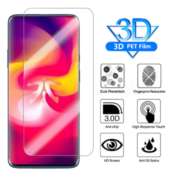 2X 3D Curved Clear Soft PET Full Screen Protector Film For OnePlus 7 Pro $3.49