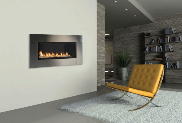 Monessen Artisan Vent Free Linear Gas Fireplace w Remote Modern- Easy Install !