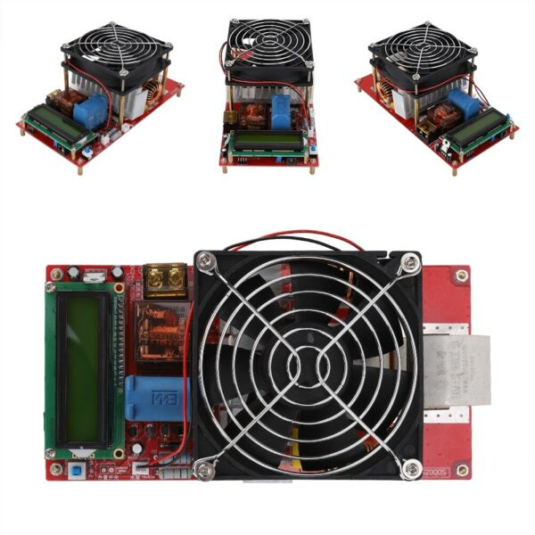 2000W High Voltage Induction Heater Module Flyback Driver Heating Board+Power US