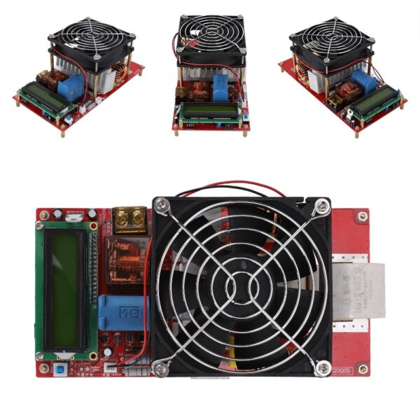 2000W ZVS High Frequency Induction Heater Module Flyback Driver Heating Board US