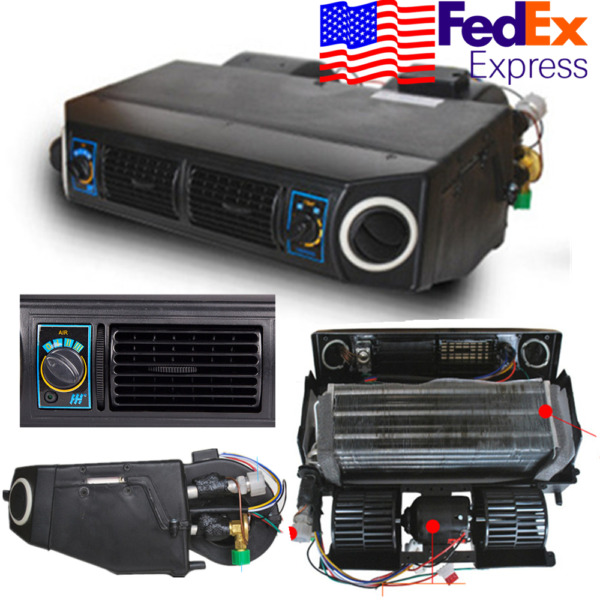 12V Car Truck Air Conditioning Universal Cooling A/C Compressor System 3Speed US