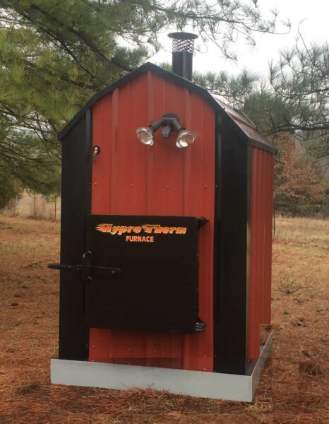 LEAST EXPENSIVE POOL or SPA HEATER Outdoor Wood Burner Boiler Furnace Outside $4195.00