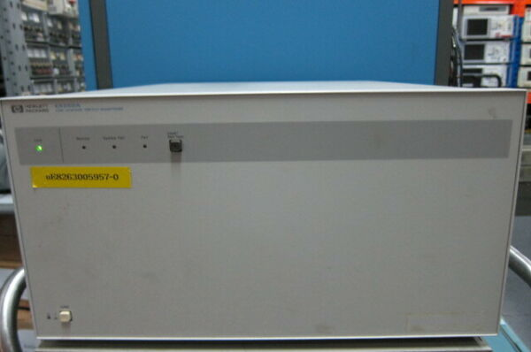 HP E5250A Low Leakage Switch Mainframe with E5252A 10x12 Matrix Switch Module