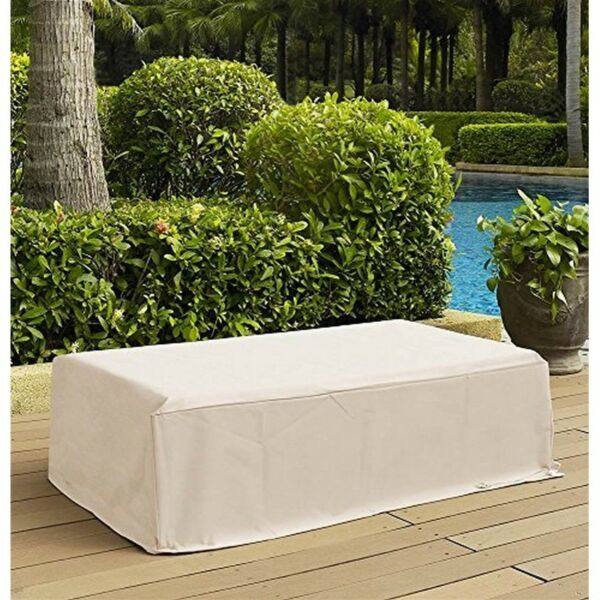 Crosley Outdoor Rectangular Table Furniture Cover Patio Covers in Cream $25.62