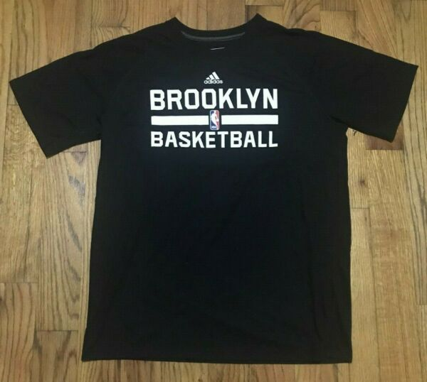 Authentic Adidas Brooklyn Nets On-Court climalite Ultimate T-Shirt