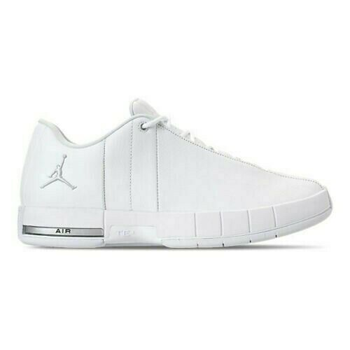 NIKE Air Jordan TE Team Elite 2 Low Men's White Silver Multi Sizes AO1696-100