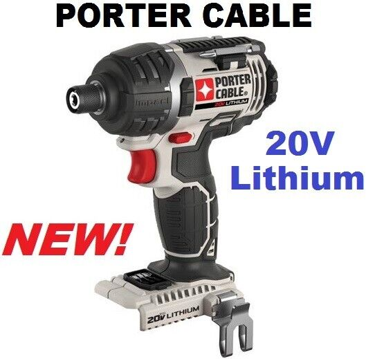PORTER-CABLE PCC640B 20V Max Lithium-Ion IMPACT DRIVER - Brand NEW! *Bare Tool*