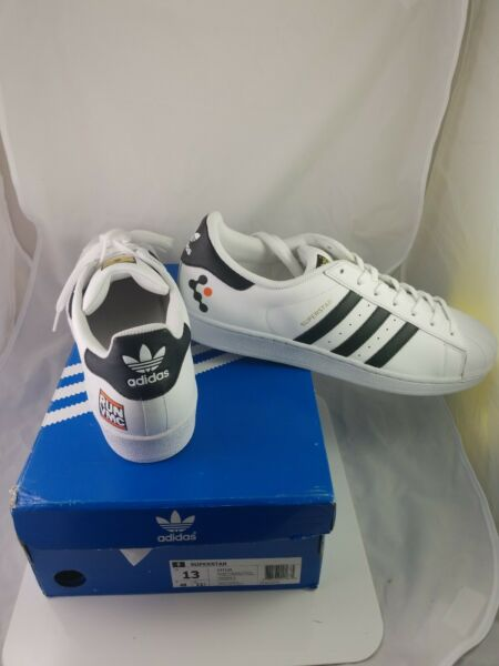 Adidas Superstar White Black For Men Size New In Box 100% Original