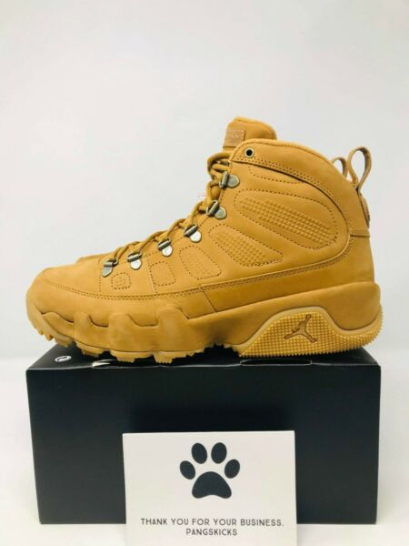 Nike Air Jordan 9 Retro Boot NRG 'Wheat' AR4491-700 Size 8-12.5