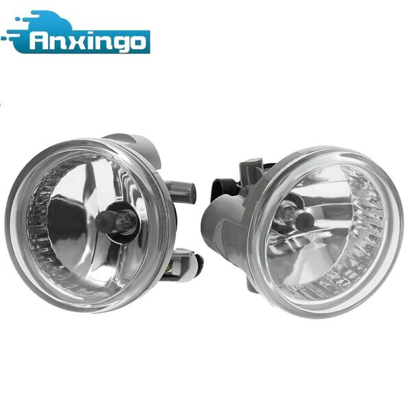 2* New Clear Bumper Driving Fog Lights For Toyota Highlander Echo Prius 04-07