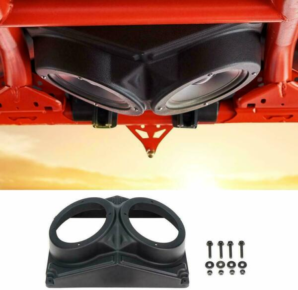 6.5#x27;#x27; 6.5inch Roof Mount Overhead Speaker Pods Pod Enclosure For Polaris RZR UTV $45.79