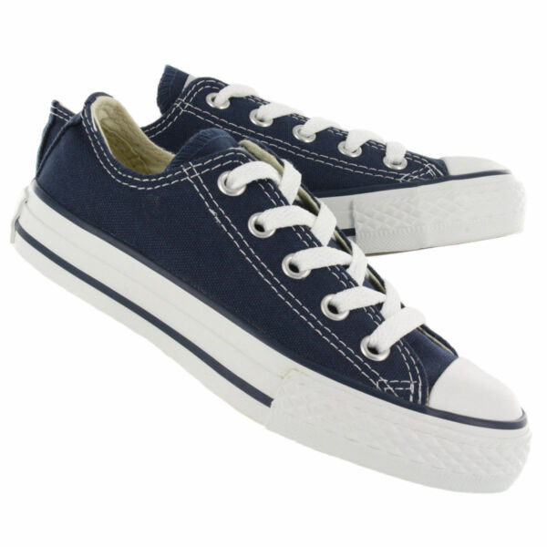 New! Unisex Adult Chuck Taylor Converse All Star Low - Navy E10