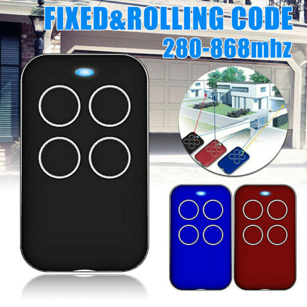 433MHz Multi-frequency Universal Automatic Door Remote Control RS