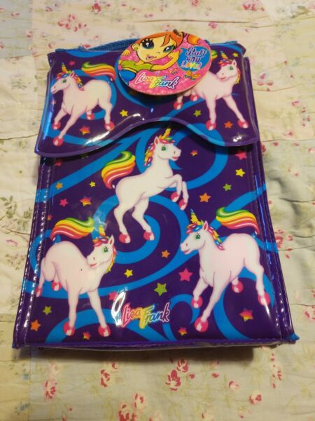 ***New Vintage*** Unicorn Horse LISA FRANK INSULATED LUNCH BAG Lunch Pail