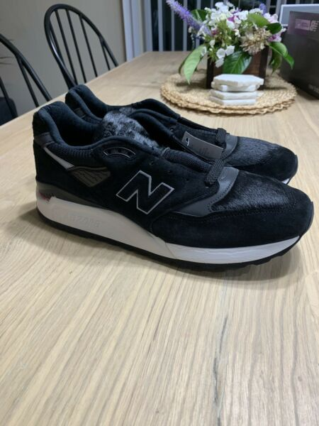New Balance M998TCB 998 Pony Hair 10.5 Made in USA