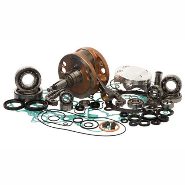 Complete Engine Rebuild Kit In A Box~2008 Honda CRF450R Wrench Rabbit WR101-028