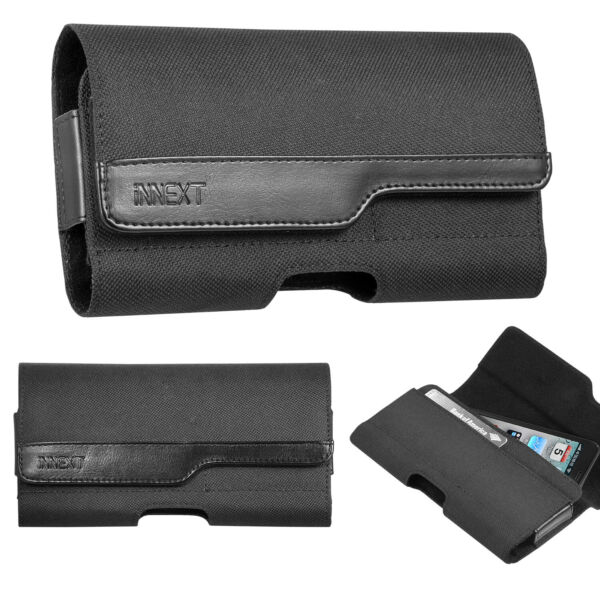 For iPhone 8 7 6 Plus Horizontal Case Cover Pouch Holster  Belt Clip