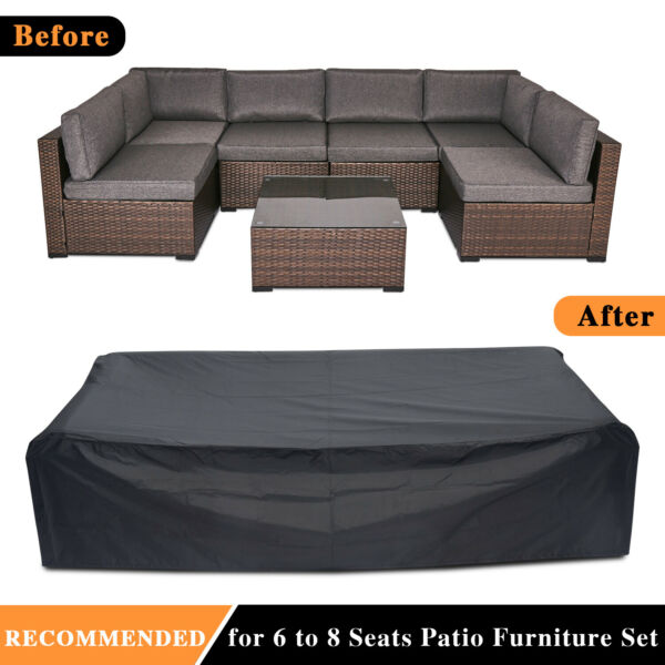 Outdoor Furniture Waterproof Rain Cover Patio Sofa Couch Table Chair Protection $28.99