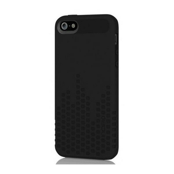 NEW Incipio Frequency Textured Impact Resistant Case for iPhone 55SSE Black