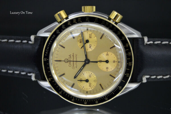 MEN'S OMEGA SPEEDMASTER AUTOMATIC 175.0032 ST CHRONOGRAPH 18K  GOLD