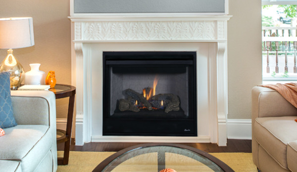 Superior DRT2040 Direct Vent Gas Fireplace Aries 40