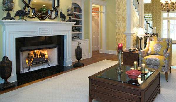 Superior Wood-Burning Fireplace Traditional Open Front 42