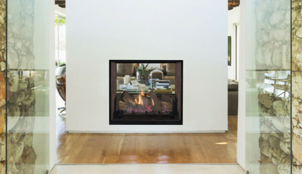 Superior DRT63ST See-Through DirectVent Gas Fireplace 63