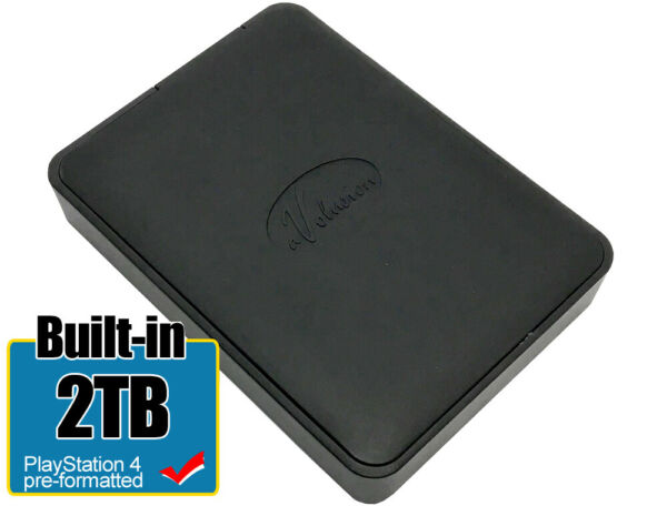 Avolusion 2TB (HD250U3-X1) USB 3.0 Portable External Hard Drive PS4 Pre-Formated