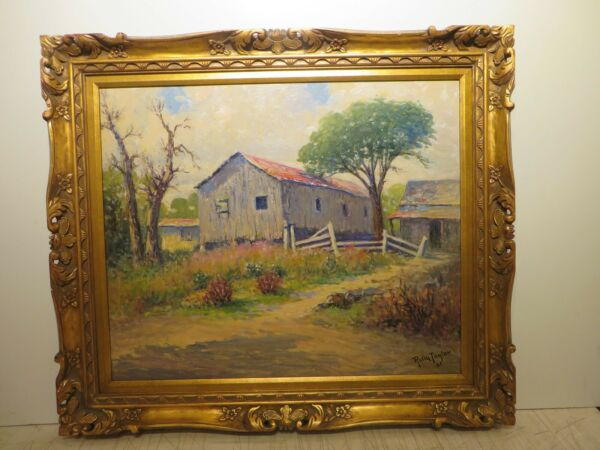 20x24 org.1961 oil painting by Rolla Taylor of