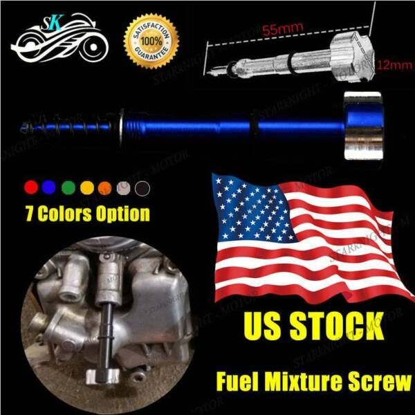 CNC Air Fuel Mixture Screw Adjuster FCR Carburetors For Suzuki RM Z450 2005 2008 $8.88