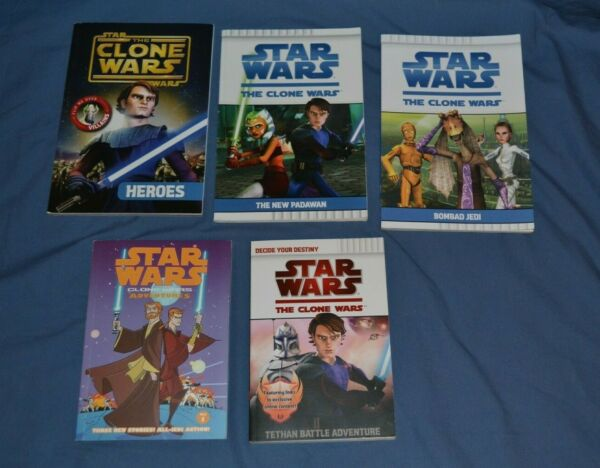 Star Wars Lot of 4 Young Adult PB books + 1 Graphic Novel