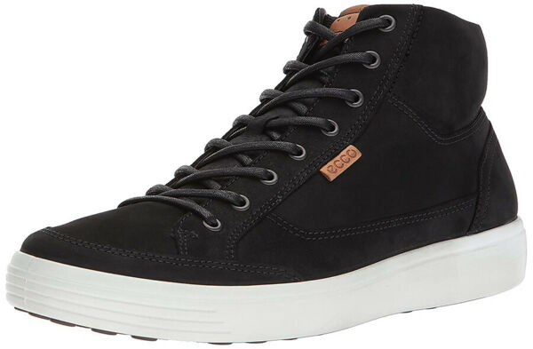 NIB - ECCO Soft 7 High-top Leather Men Sneakers