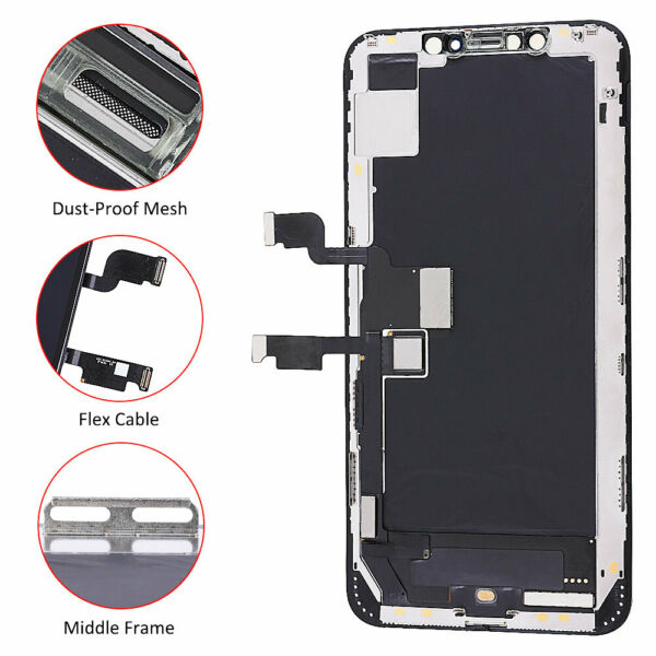For iPhone XS Max Display LCD Screen Touch Screen Digitizer Assembly Replacement