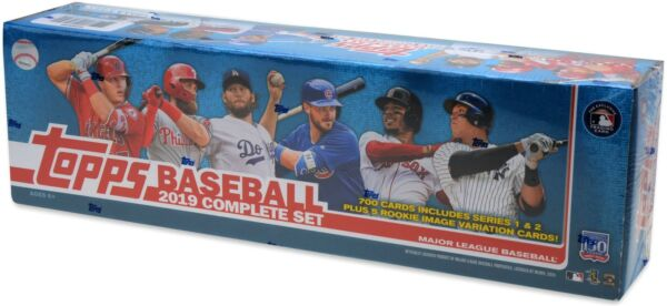 2019 Topps Baseball Factory Sealed Retail Complete Set