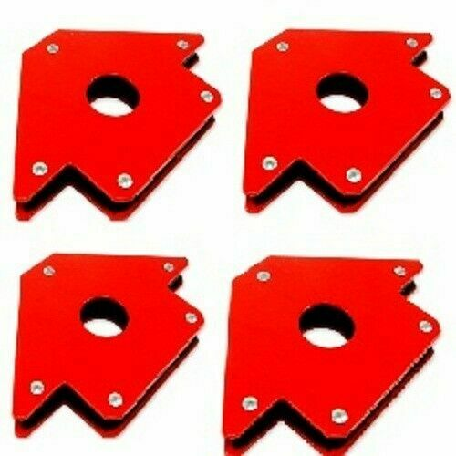 4 x 4quot; Magnetic Large Welding Magnet Holder For Up To 50lbs 45 90 135 Angles