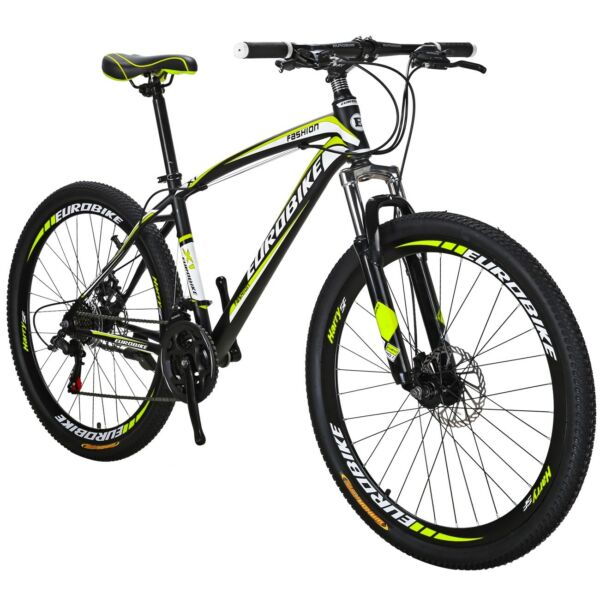 Mountain Bike Front Suspension Shimano 21 Speed Mens Bikes MTB 27.5quot; bicycle