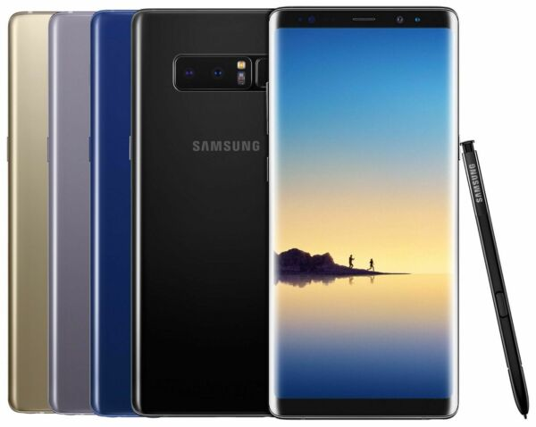 New Samsung Note 8 N950U FACTORY Unlocked Verizon AT&T T-Mobile - All Colors