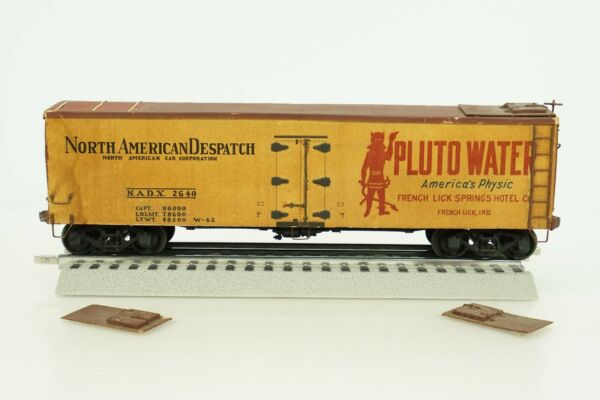 O Scale Completed Wood Kit North American Despatch Pluto Water Reefer 2640 B5 $19.95