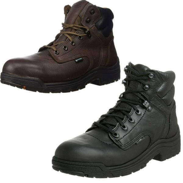 Timberland PRO Titan 6quot; Alloy Safety Toe Abrasion Slip Oil Resistant Work Boots $129.95