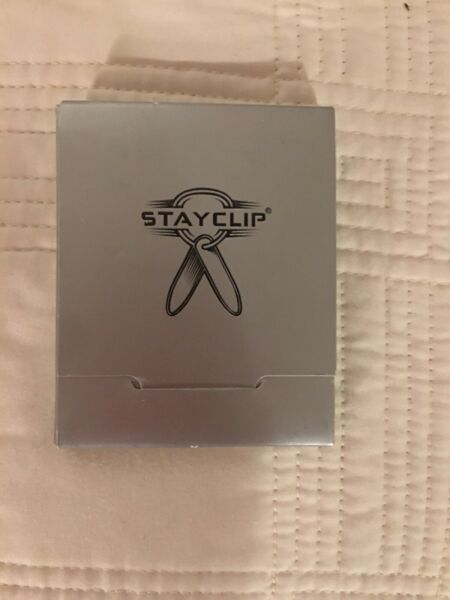Mens Stay Clip Stainless Collar Stays $9.99