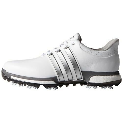 NEW MEN'S ADIDAS TOUR 360 BOOST GOLF SHOES WHITE F33249F33261 - PICK A SIZE